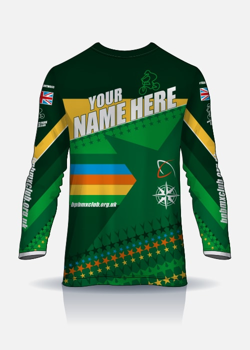 Bruntwood Park BMX Club Adult Race Jersey