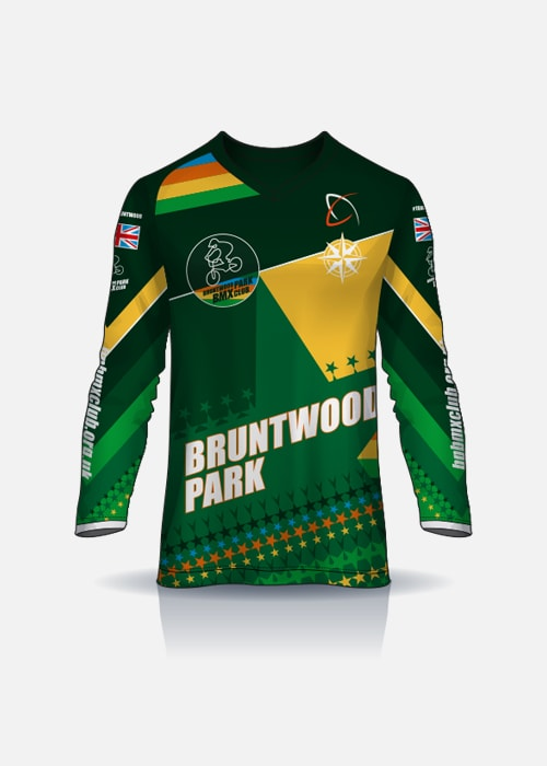 Bruntwood Park BMX Club Junior Jersey